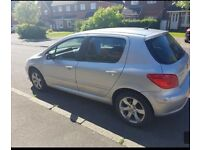 2006 Peugeot 307 1.6 ,mot and taxed, £650