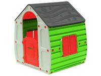 Colourful kids playhouse indoor/outdoor