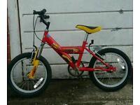 Kids bikes various sizes