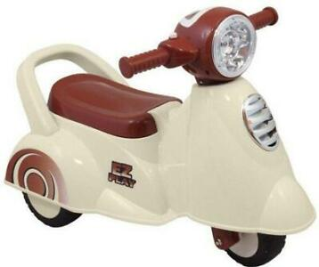 MamaLoes Eco Toys Retro White Loopscooter 605