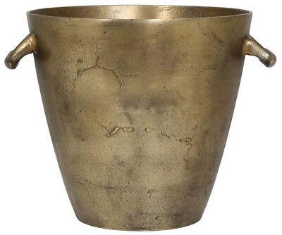 Sektkühler Antik Bronze, Champagner, Wein - Luxus Eiseimer XL 30,5 x H. 30 cm