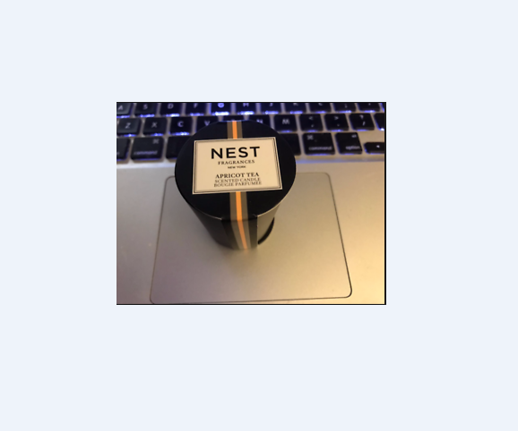 NEST FRAGRANCES APRICOT TEA CANDLE .95oz Brand New