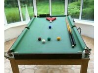 Snooker and Biliard Table 6×3FT