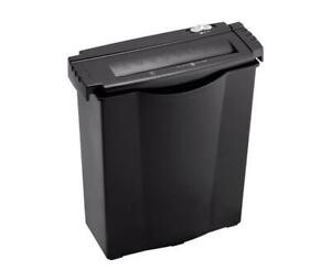 (DI19) NEW, Casemate The Office WMC6SB - Shredder 6 Sheet Stripcut w/ Wastebasket-PICK UP ONLY!!