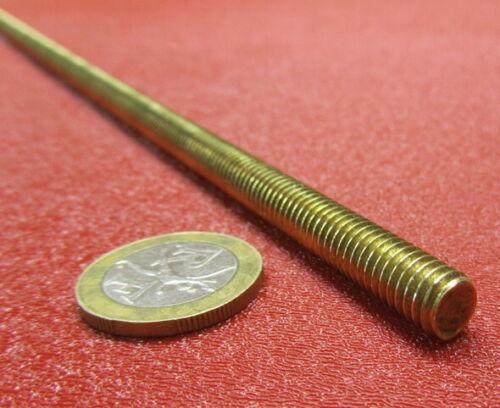 "Threaded Brass Rods, RH, 5/16""-18 x 3 Foot Length"