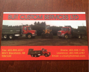 Custom manure hauling and Corral cleaning