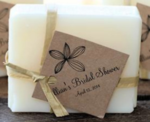 Unique Wedding Favors Custom Soap and labels to match your theme