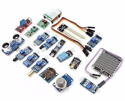 16pcs Sensor Module Kit Laser Ultrasonic For Raspberry Pi 2 Pi2 Pi3 Arduino Us