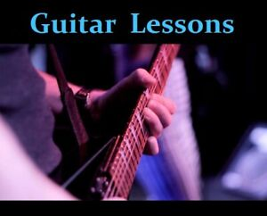 Guitar Lesson in Thornhill/Vaughan (Acoustic or Electric)