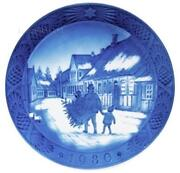 Royal Copenhagen Christmas Plate 1980