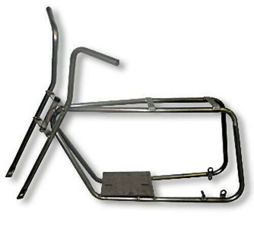 Photo Azusa Mini-Bike Frame Fork Kit Steel No Weld Custom Mini Chopper Parts New