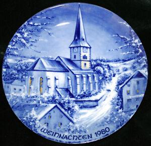 German Christmas Collector Plate Kitchener / Waterloo Kitchener Area image 1