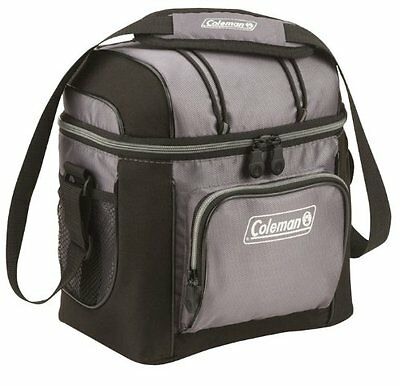 Coleman 9-Can Soft Cooler With Hard Liner, Insulated Picnic Bag Lunch Box, New