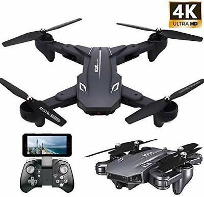 VISUO XS816 4k Drone Camera Actual Video Teeggi WiFi FPV RC Quadcopter Foldable