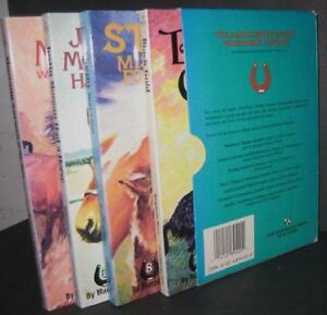 Marguerite Henry 4 bk boxed set - Misty, Sea Star, Justin Morgan