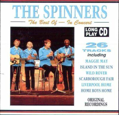 The Best of the Spinners In Concert - CD FFVG The Cheap Fast Free Post The