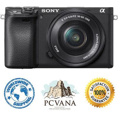 Sony Alpha a6400 sin Espejo Digital Cámara Con 16-50mm Lente