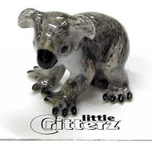 ➸ LITTLE CRITTERZ Wild Life Animal Miniature Figurine Koala Sam