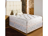 *14-DAY MONEY BACK GUARANTEE!** - Double / Small Double Bed with 12inch SpineCare Extrafirm Mattress