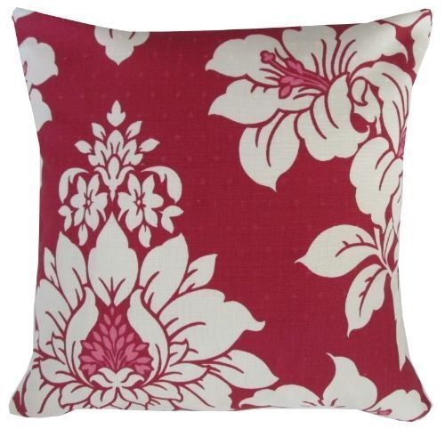 Laura Ashley Chesterly Red Tapestry Cushion