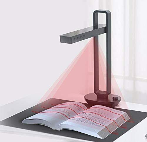 CZUR Aura Book & Document Scanner, Auto-Flatten Deskew Powered, Windows & Mac OS