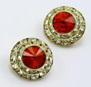Swarovski Clip on Earrings