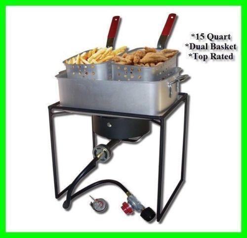 Fish cooker home garden ebay for Fish fryer burner