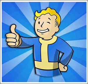 Fallout Video Game Vinyl Stickers / Decals for laptop, iPAD etc ...