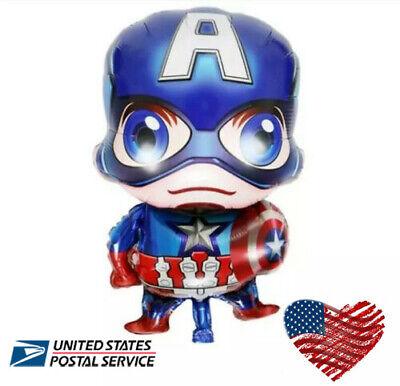 Balloon Mini Captain America Baby Hero Birthday Avengers Party FAST SHIPPING USA](Captain America Birthday)