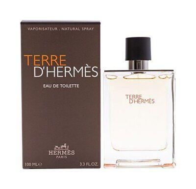 Terre D'hermes by Hermes Cologne for Men 3.4 oz New In Box