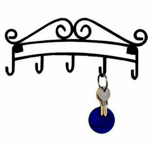 Wall key rack ebay - Vintage hotel key rack ...
