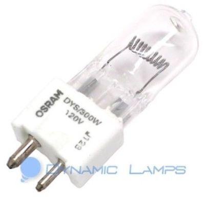 - DYS 300W 58497 Osram 120V T6 Halogen Stage Lamp