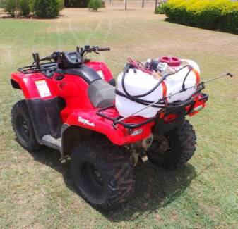 WEED SPRAYER FOR QUAD BIKES AND ATVS