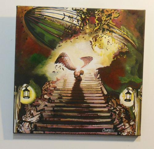 Led Zeppelin Painting Ebay