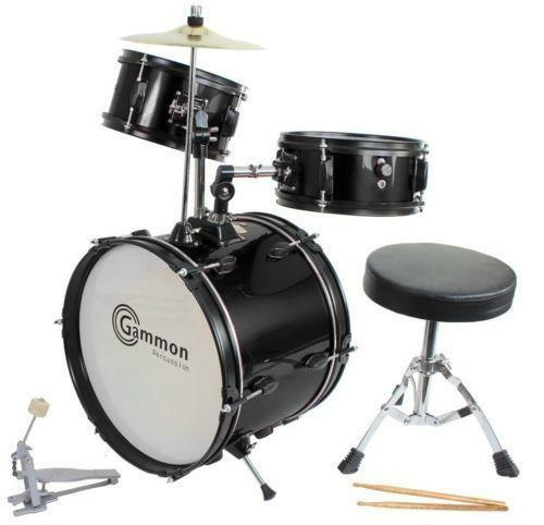 used drum set with cymbals ebay