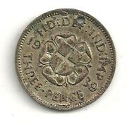 1939 Three Pence