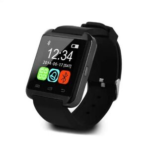 BRAND NEW Black Bluetooth Smart Wrist Watch for Android