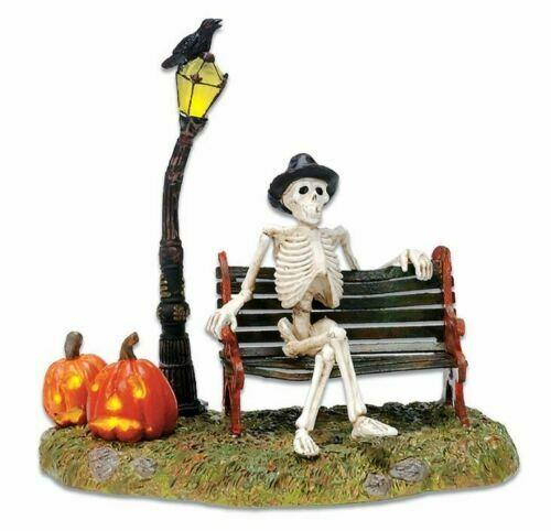 Dept 56 RESTING MY BONES Halloween Village Accessory 53146 DEALER STOCK NEW