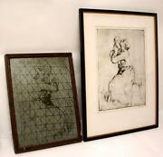 Original Signed Etching