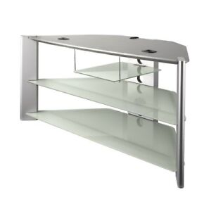 Glass TV Stand - for 50 inch TV - Perfect condition $140.00
