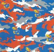 Kansas Jayhawks Fabric