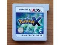 Pokemon X - Nintendo 3DS + 2DS Game - Fun Kids Childrens Action Adventure RPG Video Game