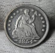 Seated Liberty Half Dime
