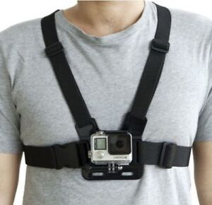 Adjustable Elastic Chest Strap Harness Mount for GoPro HD Hero 1 2 3 3+ 4 5 6