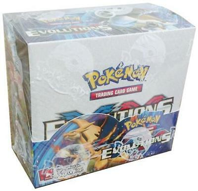 Pokemon Tcg Xy Evolutions Booster Sealed Box   English   In Stock