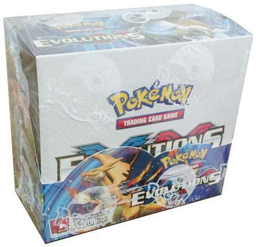 POKEMON TCG XY EVOLUTIONS BOOSTER SEALED BOX - ENGLISH - IN STOCK!
