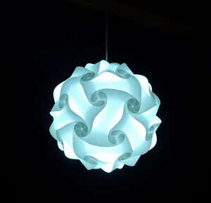 Modern Ceiling Pendant Contemporary IQ Jigsaw Puzzle Ze Lamp Light Shade M,L,XL