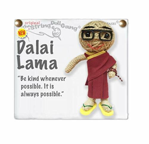 Kamibashi Dalai Lama Original Handmade String Doll Gang Keychain Toy