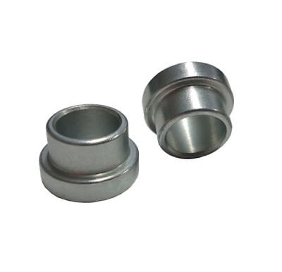 """1/2"""" to 3/8"""" (SHORT) Shock Absorber/Rod End Top Hat Reducers Brisca F2 Spacer x2"""