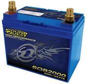 Car Audio Battery